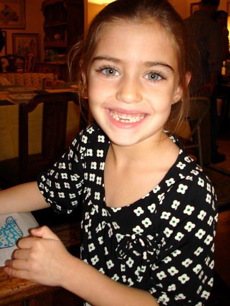 Emma, my niece