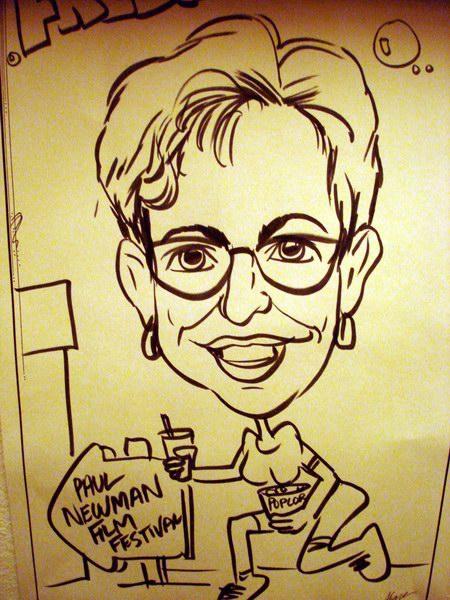 Caricature of my aunt